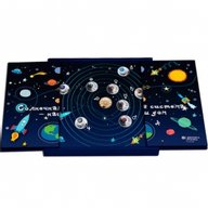 The Solar System - Child Proof Silver Set 9x10 rubles Belarus 2012