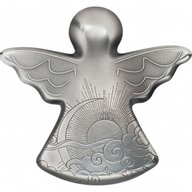 My Guardian Angel 1 oz Antique finish Silver Coin 5$ Palau 2019