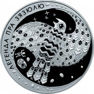 Belarus 2008 20 rubles The Legend of the Cuckoo Proof Silver Coin