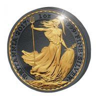 United Kingdom 2017 2 pounds Golden Enigma Edition 2017 - Britannia 1 oz BU Silver Coin
