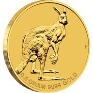 Australia 2013 2$ Mini Roo 2013 0,5g Gold Coin
