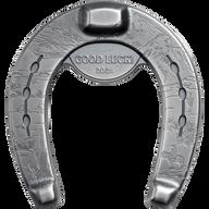 Lucky Horseshoe 1 oz Antique finish Silver Coin 5$ Palau 2021