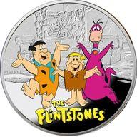 Flintstones  Cartoon Characters  Proof Silver Coin 1$  Niue 2013