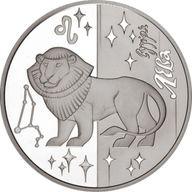 Ukraine 2008 5 Hryvnia's Leo Proof Silver Coin