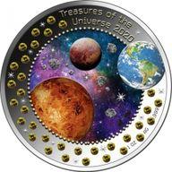 Treasures of the Universe IV 1 oz BU Silver Coin 5 Cedis Republic of Ghana 2020