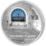 Cook Islands 2015 10$ Jerusalem Dominus Flevit Windows Of Heaven 50 g Proof-like Silver Coin