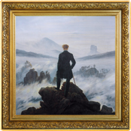 Wanderer above the Sea of Fog Treasures of World Painting 1oz Proof Silver Coin 1$ Niue 2021