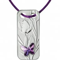 Butterfly Pendant Proof Silver Coin 1$ Niue 2017