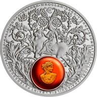 Amber Road 2016 Europe Proof Silver Coin 1$ Niue 2016