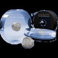 Gabon 2014 1000 Franks CFA  SMICK African Springbok PL Silver Coin