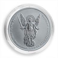Ukraine 2016 1 Hryvnia Archangel Michael UNC Silver Coin