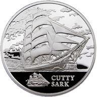 Belarus 2011 20 rubles Cutty Sark BU Silver Coin