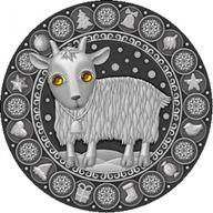 Belarus 2009 20 rubles Capricorn UNC Silver Coin
