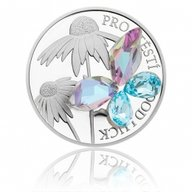 Butterfly Good Luck 1 oz Proof Silver Coin 2$ Niue 2019
