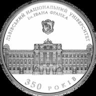 Ukraine 2011 10 Hryvnia's Smith sUNC Silver Coin