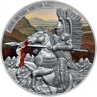 The Husar 2 oz Antique finish Silver Coin 5$ Niue 2021