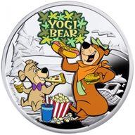Yogi Bear  Cartoon Characters  Proof Silver Coin 1$ Niue 2014