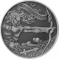 Belarus 2015 1 ruble Sagittarius Signs of the zodiac  Antique finish CuNi Coin