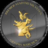 Bremen Stadtmusikanten Golden Enigma Edition 2017 BU Silver Coin 20 euro Germany 2017