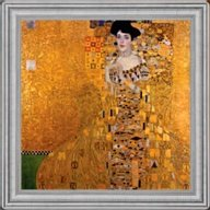 Portrait of Adele Bloch-Bauer I by Gustav Klimt The Most Expensive Paintings in the World 2oz Proof Silver Coin 2$ Niue 2015
