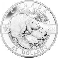 Canada 2013 25$ The Beaver 2013 O Canada Proof Silver Coin