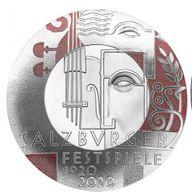 Centenary of the Salzburg Festival Proof Silver Coin 20 Euro Austria 2020