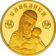 Belarus 2010 50 rubles Slavyanka Proof Gold Coin