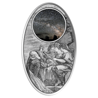 Fiji 2012 10$ Galileo's Universe Proof Silver Coin