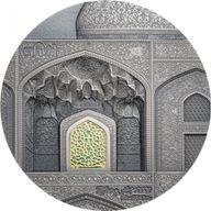 Safavid Tiffany Art 2 oz Antique finish Silver Coin 10$ Palau 2020