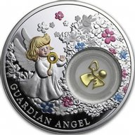 Guardian Angel Proof Silver Coin 2$ Niue 2018