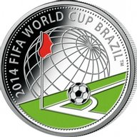 Belarus 2013 10 rubles The 2014 FIFA World Cup. Brazil Proof Silver Coin