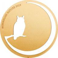 Mongolia 2016 500 togrog Owl Mongolian Nature 2016  BU Silver Coin