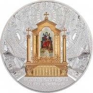Mother Cathedral of Holy Etchmiadzin 1Kilo Proof Silver Coin 30100 dram Armenia 2020