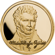Belarus 2011 10 rubles Michal Kleofas Oginski Proof Gold Coin