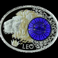 Macedonia 2014 10 Denars Leo Signs of the Zodiac Proof Silver Coin