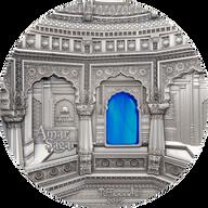 Palau 2016 50$ Amar Sagar Tiffany Art 1kg Antique finish Silver Coin
