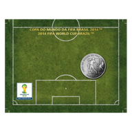 Brazil 2014 2 Reais - Chest 2014 FIFA WORLD CUP Brazil Cu/Ni  Coin