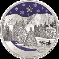Christmas - Silent Night Proof Silver Coin 10$ Kiribati 2012