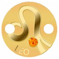 Leo Zodiac Signs Pendant 1g Proof Gold Coin 5$ Niue 2017