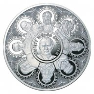 Niue 2014 500$ John Paul II Proof Siver Coin 4 kg