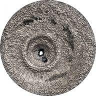Cook Islands 2016 2$ Tamdakht Meteorite Strike Antique finish Silver Coin