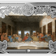 Andorra 2013 5 diners The Last Supper The Wonders of Jesus Christ Proof Silver Coin