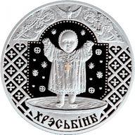 Belarus 2009 20 rubles Christening BU Silver Coin