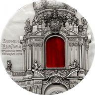 Palau 2014 10$ Baroque Dresden Tiffany Art 2 oz Antique finish Silver Coin