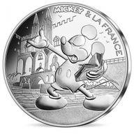 Mickey & La France BU Silver Set 10x10 euro France 2018