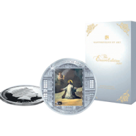 Easter Goya  Masterpieces of Art 3 oz Proof Silver Coin 20$ Cook Islands 2020