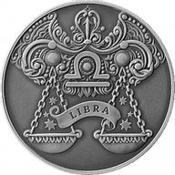 Belarus 2015 1 ruble Libra Signs of the zodiac  Antique finish CuNi Coin