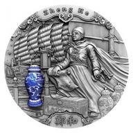 Zheng He Famous Explorers 2 oz Antique finish Silver Coin 5$ Niue 2020
