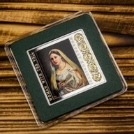 Niue 2014 1$ Masterpieces of the Renaissance  Woman with the Veil  Proof Silver Coin
