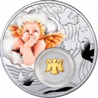 Niue 2014 1$ Angel Symbols of Luck 1/2 Oz Proof Silver Coin